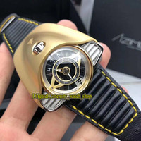 Wholesale analog motor for sale - Group buy Limited Edition Azimuth Gran Turismo Motor Racing Theme Dial Sandblasting PVD Steel Case Swiss Automatic Mens Watch Leather Sport Watches