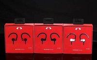 ingrosso cuffia avricolare dell'orecchio del bluetooth-UA200 senza fili Bluetooth collo montato Stereo Sport Dual In-Ear Headset universale scheda Bluetooth
