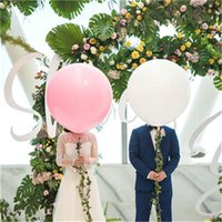 Wholesale valentines latex balloons for sale - Group buy 36inch Balloons Latex Wedding Party Baby Shower Birthday Wedding party Decoration Party Supplies valentines day gifts