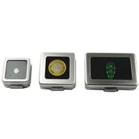 taşlar gevşek taşlar toptan satış-Küçük Gevşek Elmas veya Gem Taş Ekran Metal Kutu Kutu Saklama Kabı Takı Taşlar Tutucu Taş Organizatör ZC0238