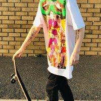 coole box-shorts großhandel-19ss Gilbert George Tod Abschlag Box Logo Casual Kurzarm Männer Frauen Street Skateboard Sommer Cool T-Shirt Hflstx432