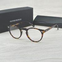 Wholesale oliver sunglasses for sale - Group buy Chashma Vintage Optical Glasses Sunglasses Frames Eyewear Accessories Frame Acetate OV5186 Eyeglasses Oliver Reading glasses Women and Me