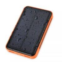 li полимер батарея энергия банк оптовых-Оригинал Bluleki Power Bank солнечная батарея Dual USB Li Polymer Внешняя Батарея Портативное Зарядное Устройство Powerbank для всех телефонов