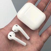 ingrosso bottone mela-Cuffie wireless Bluetooth Cuffie auricolari Ea rphones BT 5.0 / SiRi / Pulsante a sfioramento