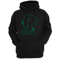 Wholesale arrow hoodie for sale – custom Green Arrow You Have Failed this City Television TV Show Men Hoody Outerwear Hoodies Sweatshirts Arrow Oliver Queen