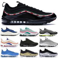 dce9ab3ee Wholesale japan rubber shoes for sale - 97 OG QS Designer Running Shoes  Undftd Black Pull