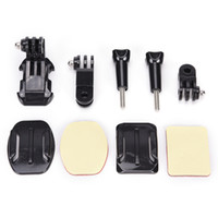 Wholesale adhesive for gopro resale online - 1set Adjustment Adhesive Helmet Front Mount Kit for Gopro Hero SJ400 for Action Camera Accessories Kit
