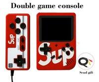 joueur pvp achat en gros de-Console de jeux vidéo de poche SUP Prise en charge des jeux à deux joueurs 300 en 1 AV Output 3.0 Écran d'affichage HD Game Player plus que PVP PXP3 1 Pcs