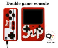 Wholesale video games pc for sale - Group buy SUP Handheld video Games Console Support for two Player Games in AV Output HD display screen Game Player more than PVP PXP3