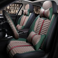 Wholesale accessories bmw for sale - Group buy New car seat fashion luxury cushion cover Linen all seasons car seat cover for BMW Mercedes Mazda Toyota kia Universal Size