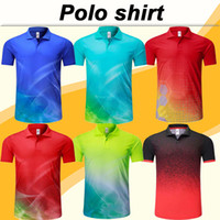 Wholesale green khaki shirts for sale - Group buy 19 New Fashion Short Sleeve Polo Shirt Men Soccer Jerseys Low price Sales Polo camiseta de fútbol