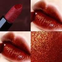 Wholesale beauty full sexy girl for sale - Group buy 13 Colors Diamond Shimmer Lipstick Velvet Makeup Long Lasting Matte Beauty Sexy Red Lip Stick Waterproof Girl Make Up Lipsticks