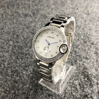relojes de lujo aaa al por mayor-Cuero de lujo de la marca del reloj W122 mecánicos relojes de cuarzo relojes para mujer para hombre de la banda de acero Parejas de piel watchs CalidadAAACARTIER