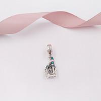 perles de cendrillon achat en gros de-Authentique 925 Perles En Argent Sterling Perles De Charme De Château De Cendrillon Convient Aux Bijoux De Style Pandora Européen Bracelets Collier