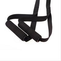 ingrosso cintura di corda di yoga-Multifunzionale porta portatile appeso cintura di tensione cintura di allenamento Sospensione Tensione Yoga Fitness appeso corda di allenamento