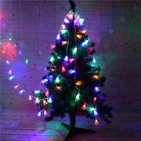 luzes de sino de natal ao ar livre venda por atacado-4M 20 LED pequeno sino luzes corda de fadas decorações da árvore de Natal para casa ao ar livre casamento Garland Decoração navidad