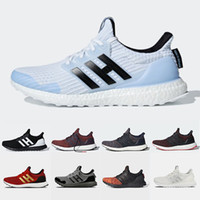 Wholesale glitter games for sale - Group buy Ultraboost Game of Thrones X Ultra boost mens Running shoes House Stark White Walker Primeknit trainers men women sports sneakers
