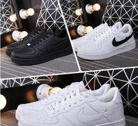 самые продаваемые дизайнерские туфли оптовых-Горячие Продаем Классический Один 1 Мужчины Женщины Повседневная Обувь Мода Белые Низкие Высокие Дизайнерские Туфли Дешевые Мужские Ботинки Скейтборд Размер 36-44