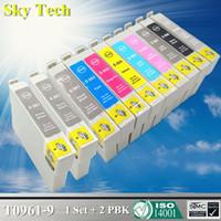 hochwertige tintenpatronen großhandel-Qualitätskompatible Tintenpatronen für T0961 - T0969, für Stylus Photo R2880. [Photo Classic Ink Inside]