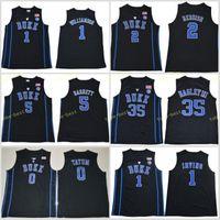 23d9f784bd75 NCAA College Duke Blue Devils Jersey Kyrie Irving 1 Zion Williamson Cam  Reddish RJ Barrett Marvin Bagley III Jayson Tatum Ingram Allen