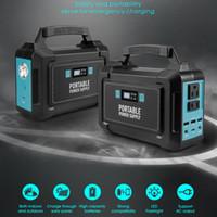 bateria de lítio de emergência venda por atacado-Explorador portátil do gerador da central eléctrica 148Wh Bateria de lítio alternativa da emergência, tomada da CA 110V / 200W, gerador solar para o acampamento do ar livre