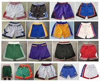 basketbol şort xl toptan satış-Üst kalite ! 2019 Basketbol Şort Takım sepet Don Cep Şort Spor Şort Pantolon pantalones cortos de baloncesto pantalones cortos