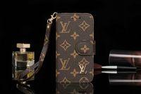 iphone handabdeckung großhandel-Telefonabdeckung für iPhone XS Max Brand Design Brieftasche Flip Leder mit Kartensteckplatz für iPhone X XR 7plus 7 8 8plus 6 6plus mit Handschlaufe