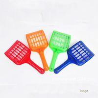 Wholesale plastic spades shovels for sale - Group buy Plastic Pet Fecal Cleaning Spade With Handle Pet Litter Shovel Durable Thicken Cat Litter Scoop Pets Supplies Colors BC BH0978