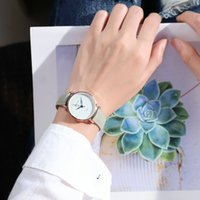 Wholesale lovers watches pair for sale - Group buy Chic Concise Quartz Watch School Wind Sen System Student Trend Lovers Wrist Watch Woman Confidante A Pair