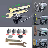Wholesale shaft sleeve adapter resale online - NEW M10 mm drill Spindle Adapter Grinding Polishing Shaft Motor Bench Grinder Saw blade adapter Connecting rod sleeve