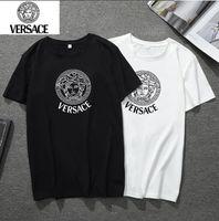 indische motorradgeschenke großhandel-Herren Designer T Shirts Mode Herren Bekleidung 2019 Sommer Casual Streetwear T Shirt Baumwollmischung Rundhalsausschnitt Kurzarm