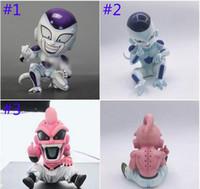 boo bebeği toptan satış-12 cm Dragon Ball Z Majin Majin Buu Majin Boo Şekil action figure PVC oyuncaklar koleksiyonu bebek anime karikatür modeli şekil Oyuncak