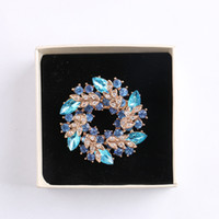 Wholesale bauhinia crystal for sale - Group buy New High quality korean brooch crystal brooch environment friendly personalized gift women cute bauhinia brooch