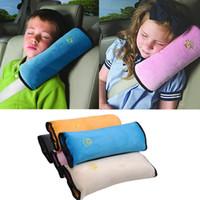 ingrosso cuscino della cintura-Cuscino per auto Cintura di sicurezza per auto Cinturino per dormire Proteggere imbottitura per la schiena Regolare seggiolino per auto per bambini