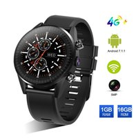 Wholesale quad core smart watch online – KC05 New G Smart Watch Men Android Quad Core GPS MP Camera Mah Battery Replacement Strap Waterproof Watch Retail