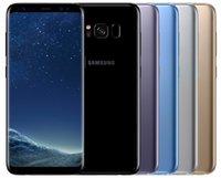 """telefon 2gb koç dhl toptan satış-Orijinal Samsung Galaxy S8 + S8 Artı Octa Çekirdek 6.2"""" 12.0MP 4G RAM 64G ROM G955F G955U Yenilenmiş Smartphone"""