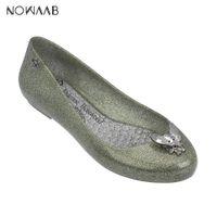 фирменные ботинки с желе оптовых-Melissa Space Love 2019 Women Flat Sandals  Melissa Shoes For Women Jelly Sandals Female Jelly Shoes