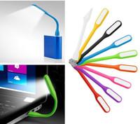 led aydınlatma deco masa toptan satış-Bilgisayar Çevre Birim Alet Yenilik Aydınlatma Dizüstü Dizüstü Işıkları Taşınabilir USB Klavye Lambaları Masa Danışma LED Mini Kitap Işıkları