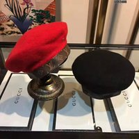 ingrosso berretto da lana derby-Tappo di lusso cap polo padre lana di pecora moda regolabile berretto piegato caldo di alta qualità superiore nuovi uomini di arrivo