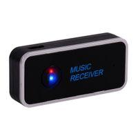 altavoz inalámbrico bluetooth a2dp al por mayor-VBESTLIFE Bluetooth Receptor 3.5mm Streaming Home Car A2DP AUX Audio Adaptador de Receptor de Música Inalámbrico para Altavoz de Coche Auriculares Envío Gratis