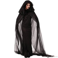 Wholesale vampire bride costume online - European And American Lady Halloween Costumes Witch Costume Vampire Bride Cosplay Role Playing Uniform Theme Costume