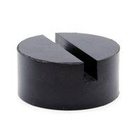 barandilla al por mayor-Manta de goma del adaptador universal del cojín de disco del enchufe del piso del vehículo para el soporte del carril lateral de la soldadura de pellizco