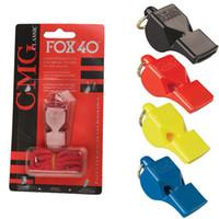 sifflet classique achat en gros de-FOX 40 Officiel Arbitre Sifflet classique Utilitaire Football Football Basketball Sport Sifflet Fox 40 Sifflets Accessoires EDC Gear M64R