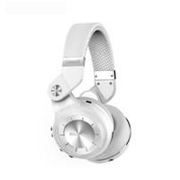 auricular bluedio t2 al por mayor-Bluedio Headest T2 + Turbine 2 Plus Plegable Bluetooth Auricular Bluetooth 4.1 Auricular Soporte para tarjeta SD y radio FM Para llamadas Música buena