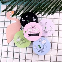 hayvan temas davası toptan satış-2019 kontakt lens çantası flamingo kolay taşıma kontakt lensler durumda kutusu sevimli hayvan gözlük casecontact lens kutusu