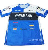 estrada yamaha venda por atacado-Motocicleta dos homens YZR M1 atv dh mx off road motocross T-shirt de Equitação Respirável para yamaha T shirt Roupas de Condução