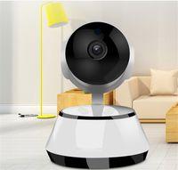kablosuz ses güvenlik sistemi toptan satış-Wifi IP Kamera Gözetim 720 P HD Gece Görüş İki Yönlü Ses Kablosuz Video CCTV Kamera Bebek Monitörü Ev Güvenlik sistemi