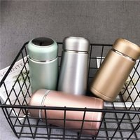 Wholesale mini stockings sale resale online - Mini Stainless Steel Insulated Tumblers Vacuum Portable Water Bottle Outdoors Frosted Vacuum Tea Cup Originality Pure Color Hot Sale ylE1