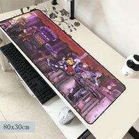 üst uç adet toptan satış-Borderlands mouse pad 800x300x2mm paspaslar sevimli Bilgisayar fare mat oyun aksesuarları High-end mousepad klavye oyunları pc oyun