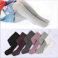 Wholesale woolen boots resale online - Baby Leggings Pantyhose Kids Cotton Girls s Fashion Tights Toddler Autumn Stockings Spring Princess Pants Christmas Trousers Clothes C2788